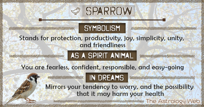 Sparrow Meaning And Symbolism The Astrology Web