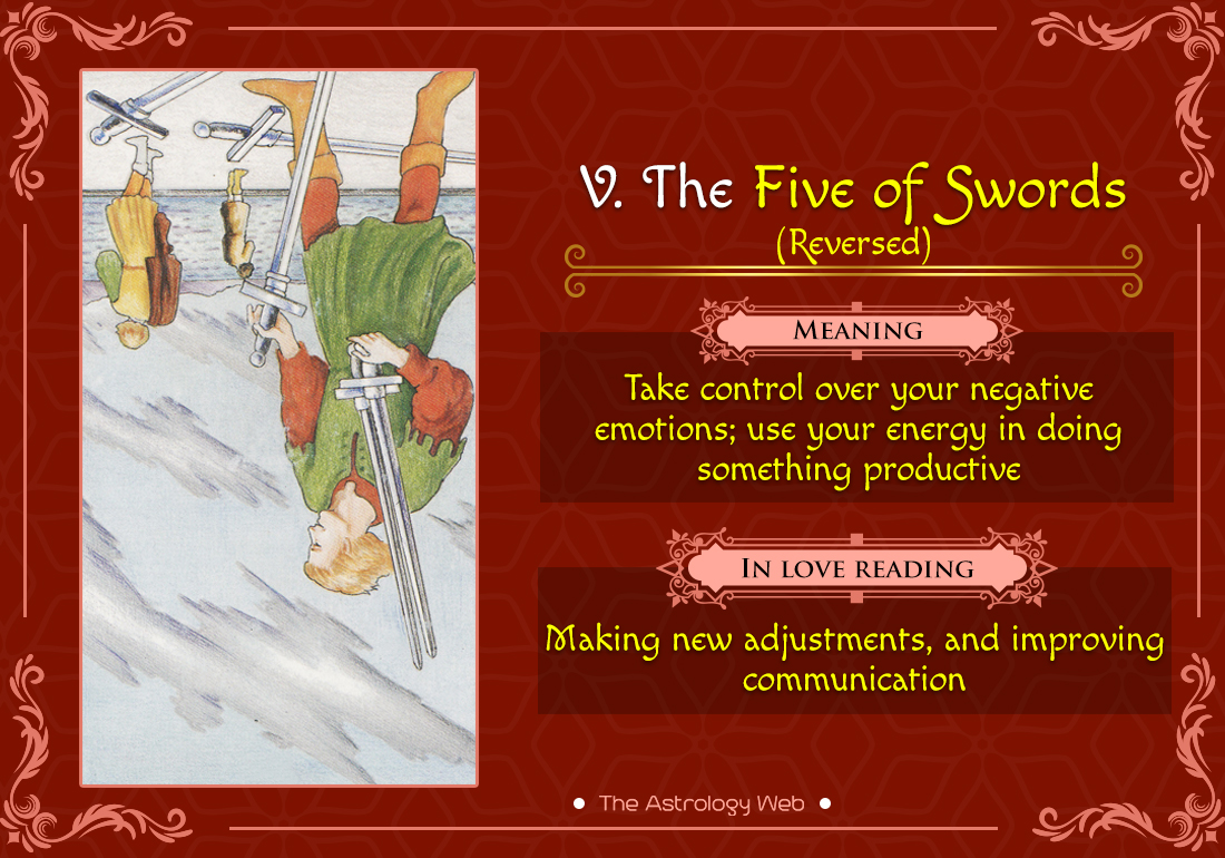 The Five of Swords Reversed