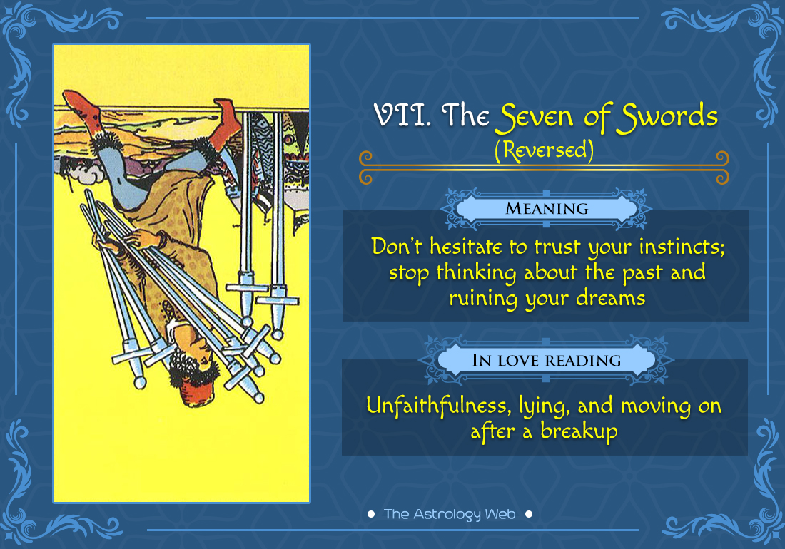 The Seven of Swords Reversed