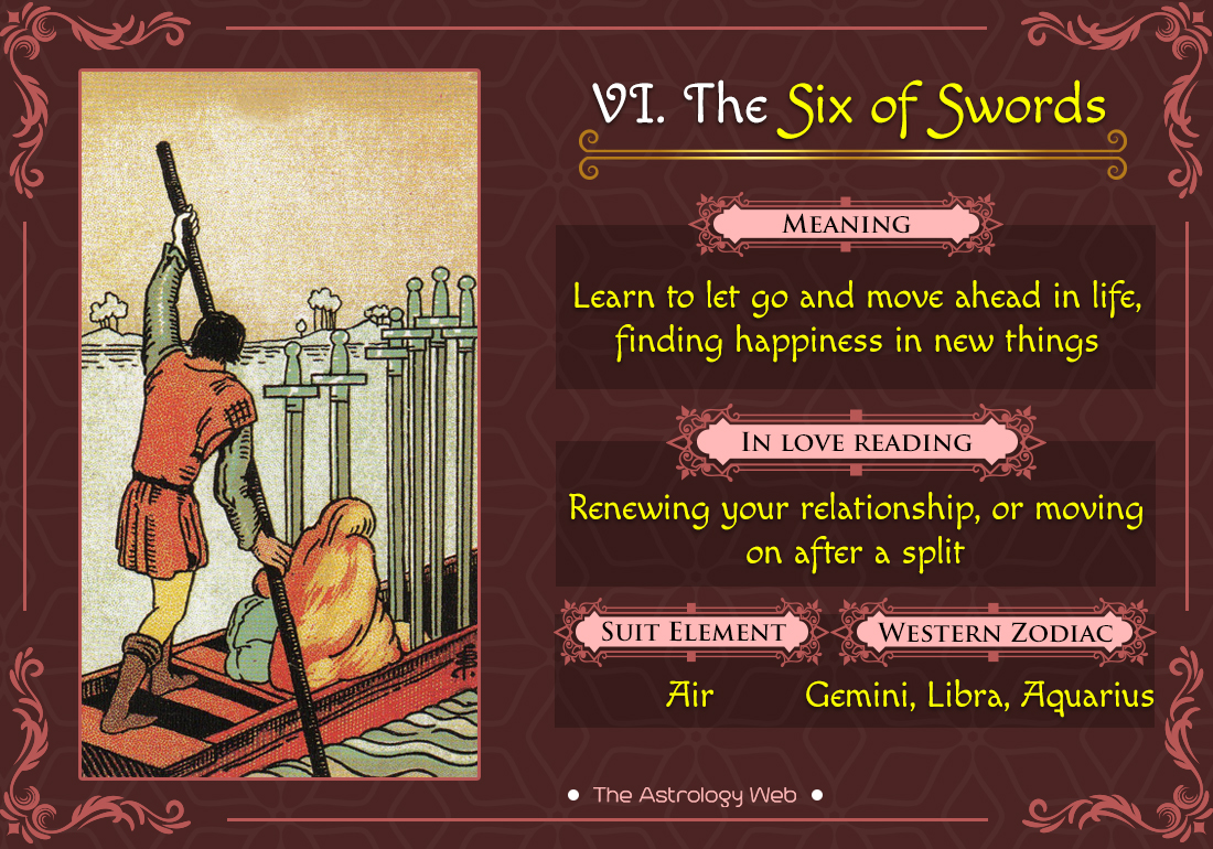 The Six of Swords