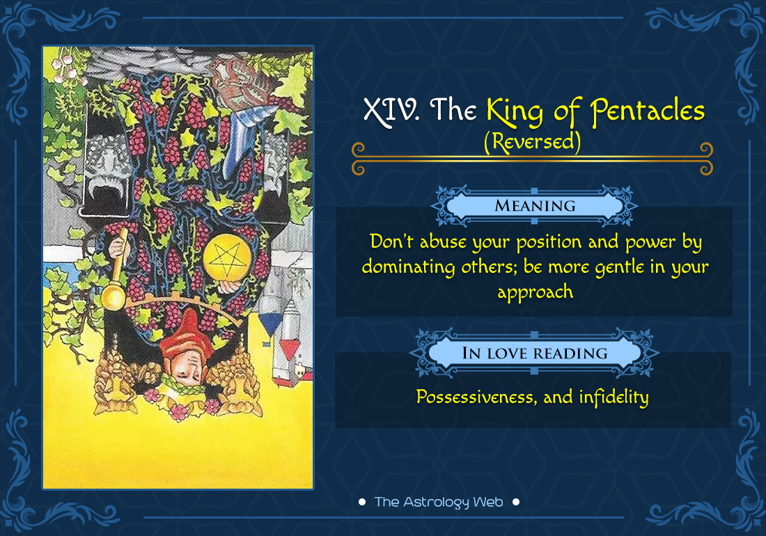 The King of Pentacles Tarot | The Astrology Web