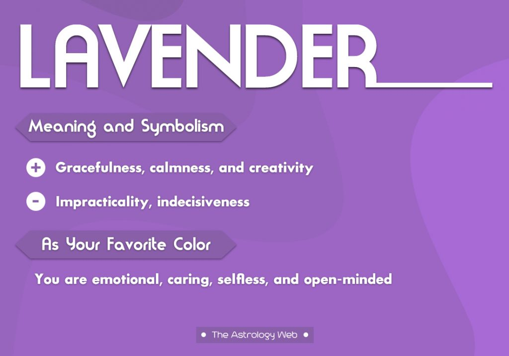 Lavender Meaning Symbolism Favorite Color