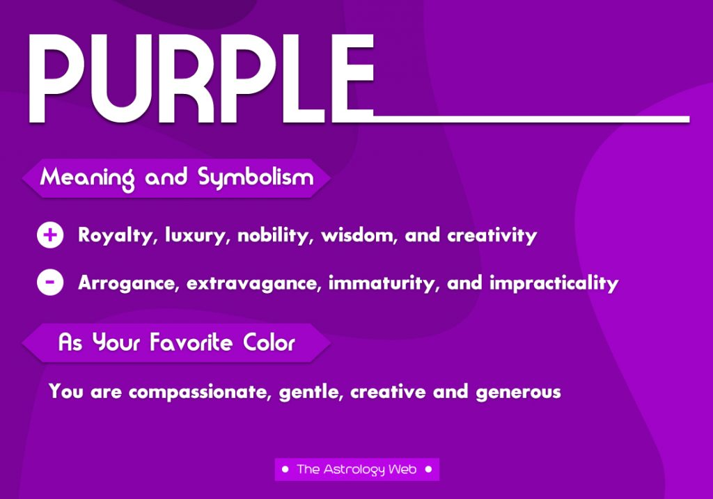 Purple Meaning Symbolism Favorite Color