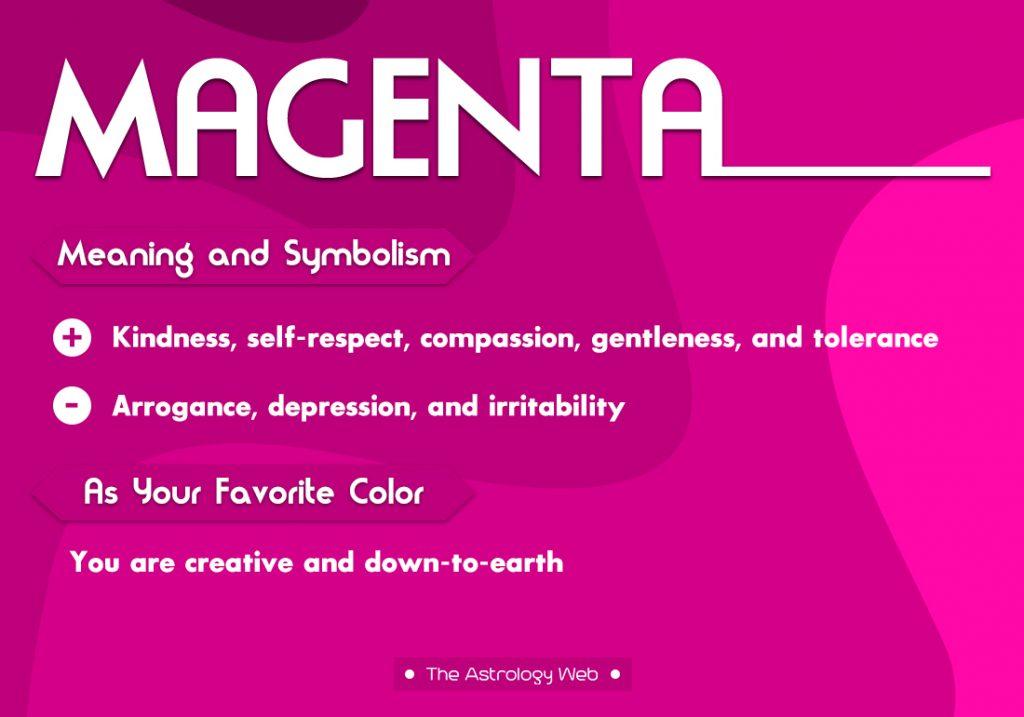 Magenta Meaning Symbolism Favorite Color