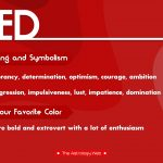 Red Meaning Symbolism Favorite Color