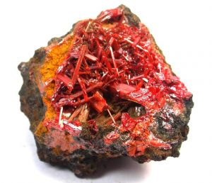 Aries Crocoite Birthstone