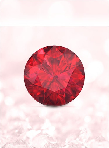 Cancer Ruby Birthstone