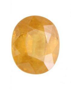 Leo Yellow Sapphire Birthstone