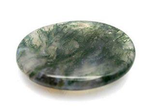 Virgo Moss Agate Birthstone