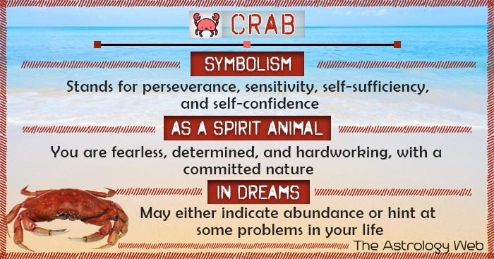 Crab Symbolism Spirit Animal Dream